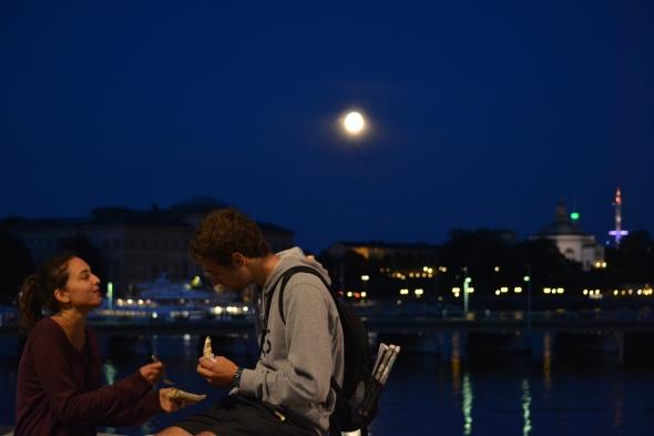 Strockholm by night