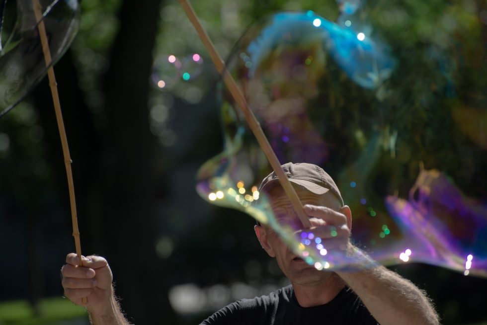 Livet är som en bubbla